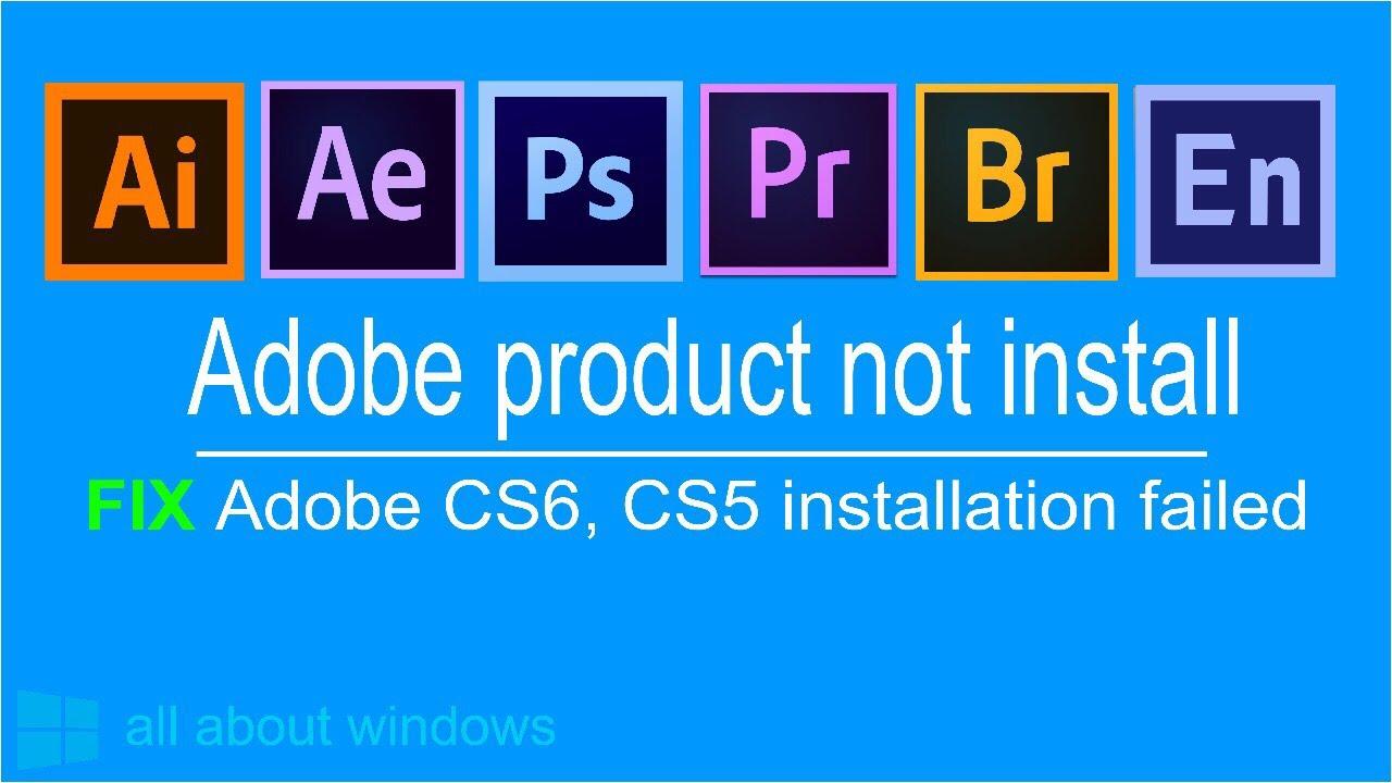 FIX Adobe Creative Cloud 2018 installation failed