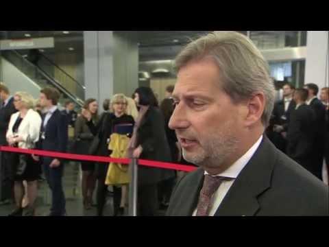 Doorstep by Johannes Hahn ahead of the Eastern Partnership Summit in Riga, 22 May
