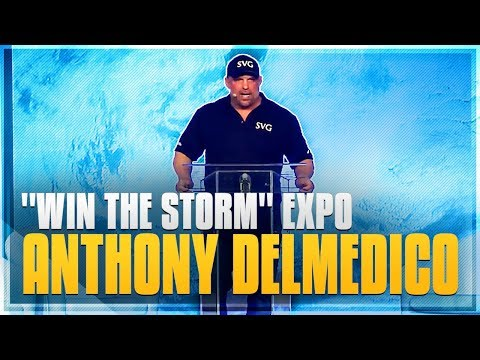 """""""Saturday Sales Meeting"""" Anthony Delmedico """"Win The Storm"""" Conference and Tradeshow Expo"""