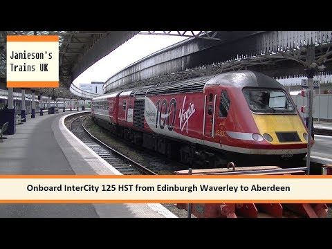 Onboard InterCity 125 HST from Edinburgh Waverley to Aberdeen