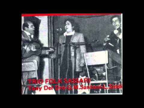 Trio Folk Sassari - Cantadda Sassaresa (Corsicana)
