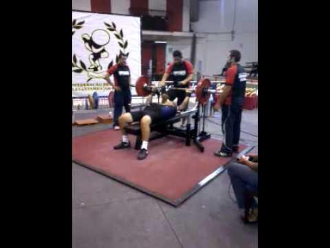 Campeonato Paulista de supino 2014 - 140 kg