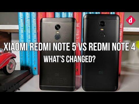 Xiaomi Redmi Note 5 Vs Redmi Note 4: What's changed? | Digit.in