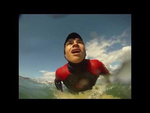 gopro, surf, catalunya
