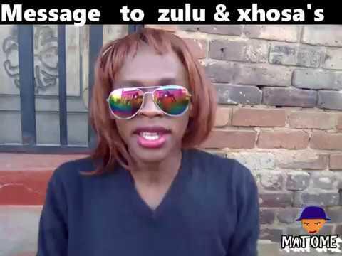 Message to Zulu & Xhosa
