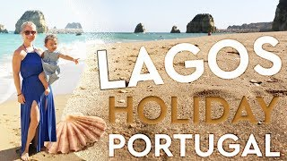 On Holiday In Lagos - Exploring the Town & Praia do Pinhão (Pinhao Beach)