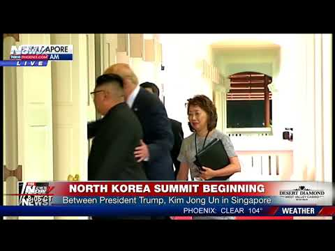 FULL COVERAGE: Historic North Korea Summit beginning in Singapore (FNN)