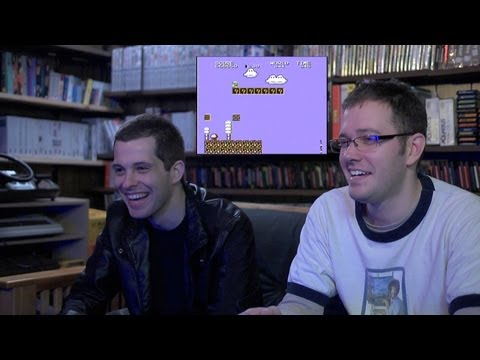 Super Mario 4 Rambo NES Video Game with James Rolfe & Mike Matei