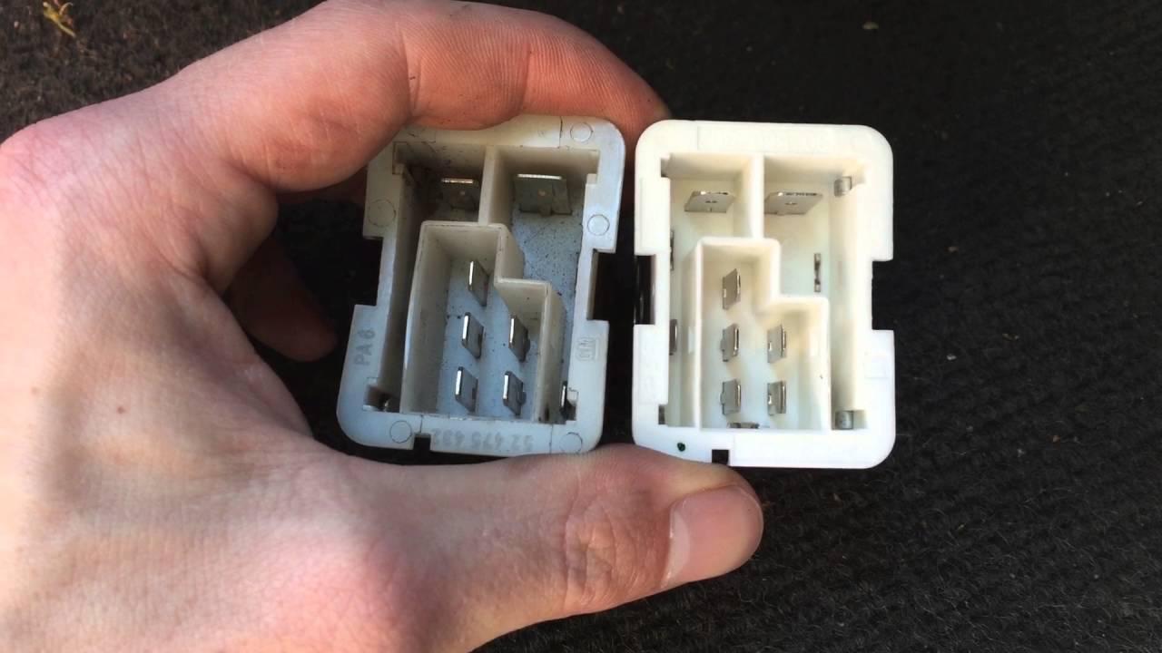 Nl Dut Opel Blower Ventilator Weerstand Reparatie Youtube