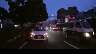 ドラレコ:和歌山西警察署の車両が交通事故現場に次々と現着(後)