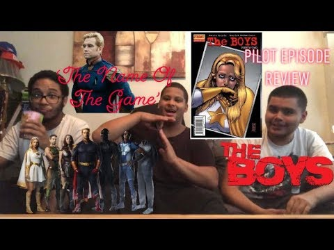 The Boys: 'The Name Of The Game'  |  Pilot Episode Review
