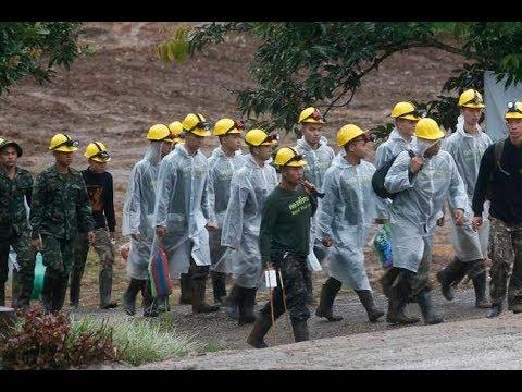 Como ocorreu a operação de resgate dos meninos na caverna da Tailândia