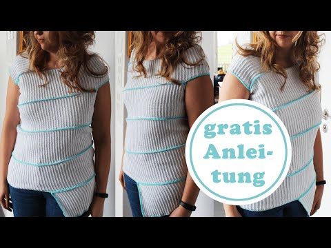 Bandagen Pulli stricken | Anleitung kostenlos | für Anfänger geieignet