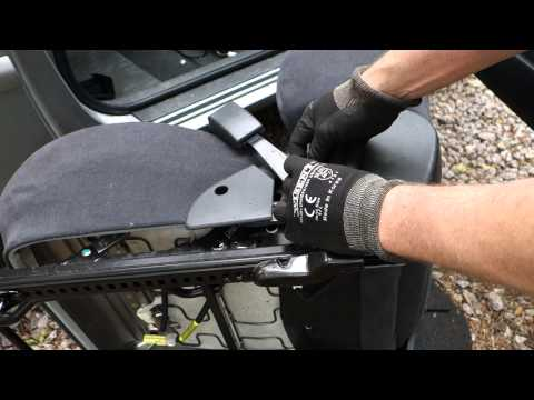 How to replace front seat belt lock system. Toyota Corolla. Years 2002 to 2014