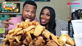 Frenchy\'s Chicken Mukbang Houston