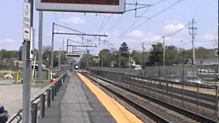 Amtrak Acela at 168 mph!!!! (sped up to show demostration of speeds)