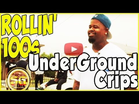 Underground Crip, 100 Dolla Bill, on 105th Street from Rollin 100s Crips
