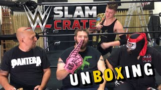 WWE SLAM CRATE UNBOXING JULY 2017! WHOMPIS HAS AN EPIC 4TH OF JULY BBQ!