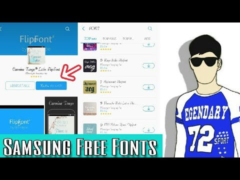 Samsung Paid Fonts Free Download