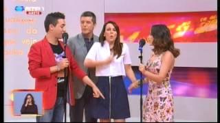 Vanessa Silva & David Antunes - Não Te Quero Mais (Praça da Alegria - RTP1)