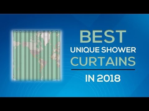 Best Unique Shower Curtains 2018 Reviews