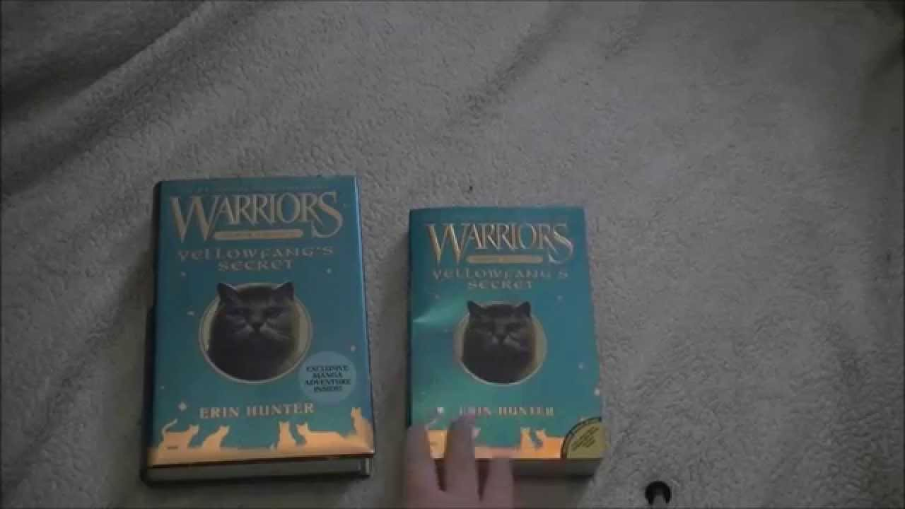 Warrior Cats  Hardcover Or Paperback?