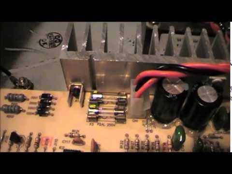 Bass amplifier repair