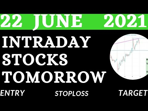 Download Best Intraday Stocks for Tomorrow ( 22 june 2021)  Intraday trading Stocks   Detailed Analysis    💥