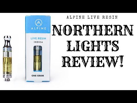 Alpine Live Resin Cartridge: Patient Review