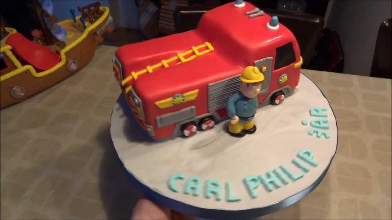 Fireman Sam Cake Youtube
