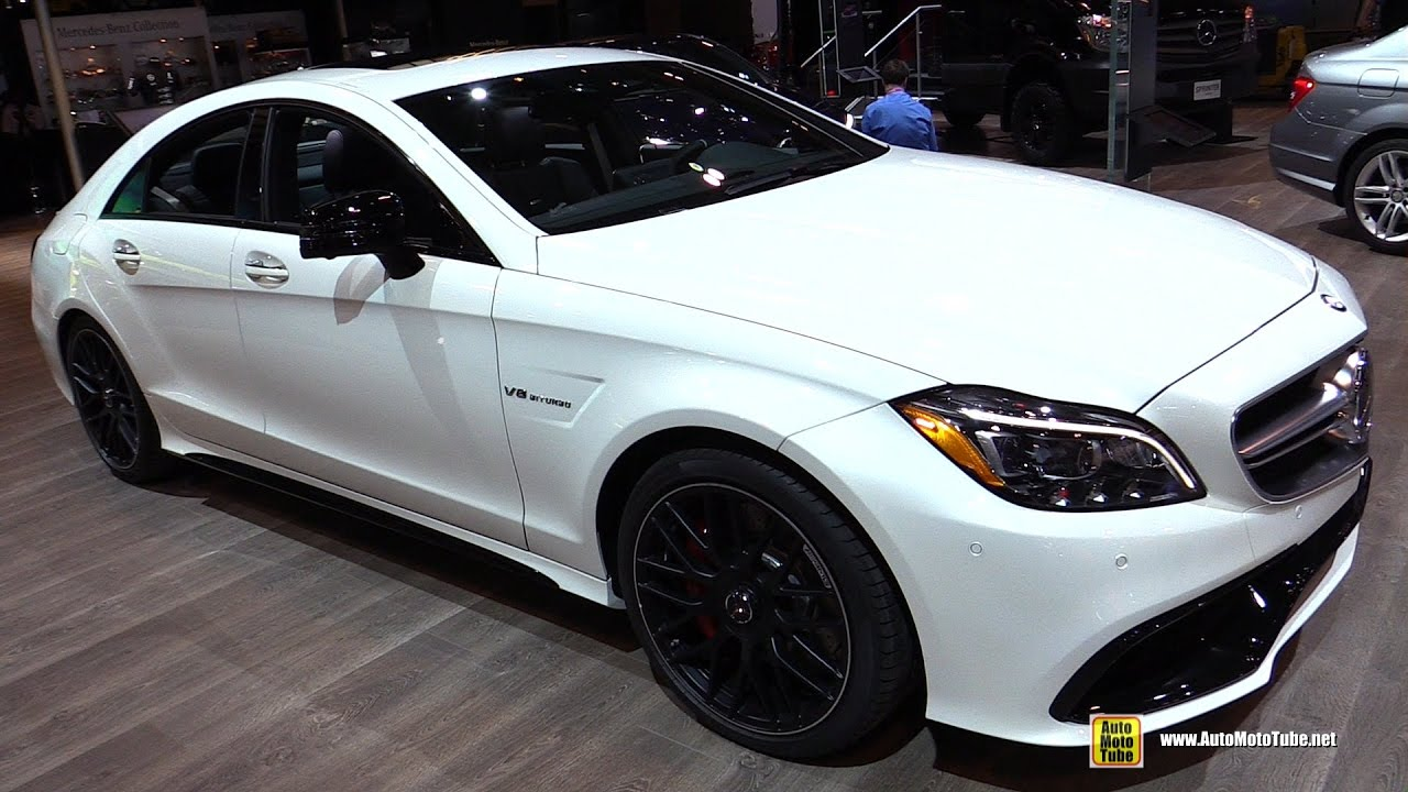 2017 Mercedes Amg Cls63 S 4matic Exterior And Interior Walkaround Toronto Auto Show