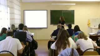 Школа № 13, г.  Тольятти - Урок математики 30 сент. 2014 г.