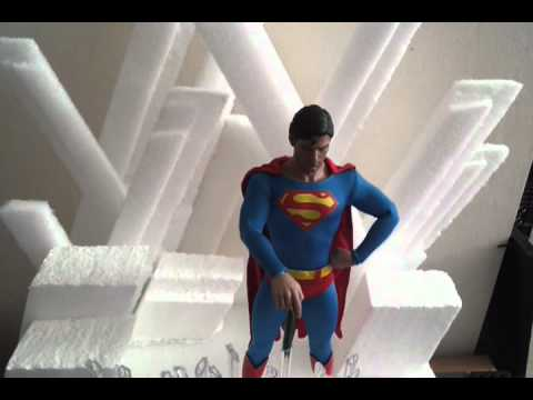 Hot toys superman fortress of solitude