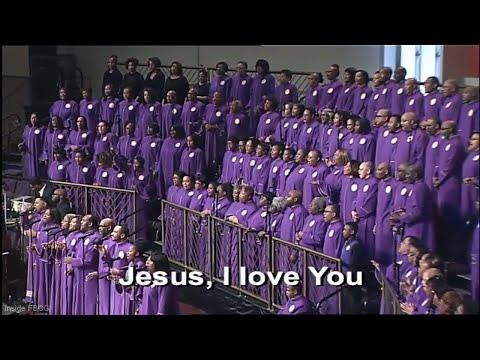 """Jesus I Love You"" Edwin Hawkins - FBCG Combined Choir"