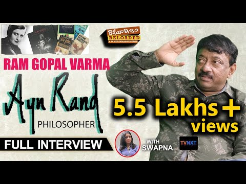 Rgv on Ayn Rand (Philosopher) | Ramuism Reloaded | Exclusive Interview | TVNXT Hotshot