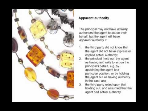 Business Law 6.1: Agency