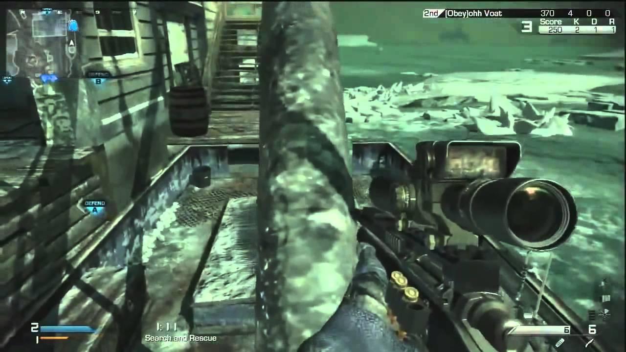 Call of Duty Ghosts  Quad Headshot Feed, Insane Trickshot Killcam! Obey RC