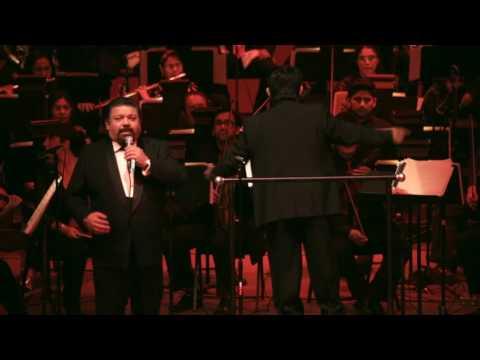 Señora Tentación (Agustin Lara) canta Mauro Calderón (Tenor) con la OSUACH