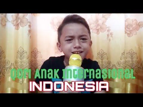Qori Cilik Internasional ini Bikin Netizen MERINDING Dengar Suaranya, SUBHANALLAH !!! From INDONESIA