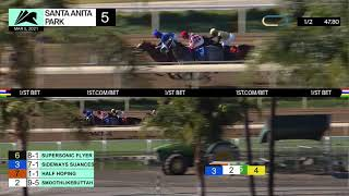 Smoothlikebuttah wins Race 5 on Friday, March 5th, 2021 at Santa Anita Park.