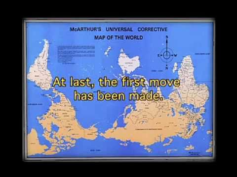 Mcarthurs Universal Corrective Map Of The World Stuart McArthur's Universal Corrective Map [Part 7 of 14]   YouTube