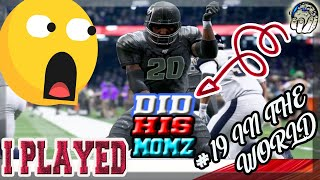 I PLAYED THE #19 RANKED PLAYER IN THE WORLD & I CANT BELIEVE WHAT HAPPENED! Madden 20 Ultimate Team