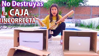 NO DESTRUYAS LA CAJA INCORRECTA | TV Ana Emilia