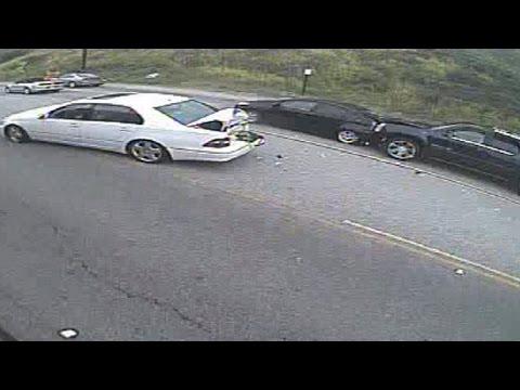 Entertainment Tonight released video footage of Caitlyn Jenner's fatal four-car accident.