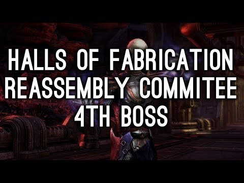 Reassembly Commitee, Halls of Fabrication - Morrowind ESO