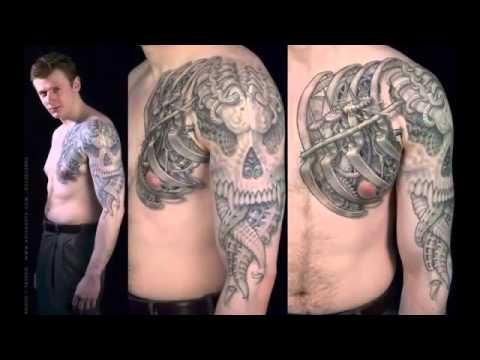 Best 3D tattoos in the world 2014   2015 HD   3D Tattoo Design Ideas -Armband Tattoo-