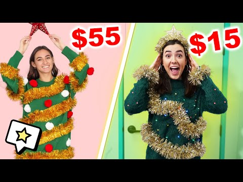 Cheap VS Expensive Ugly Christmas Sweaters!