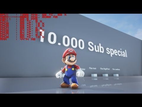 Unreal Engine 4 - All Characters 10k Sub Special + Download link