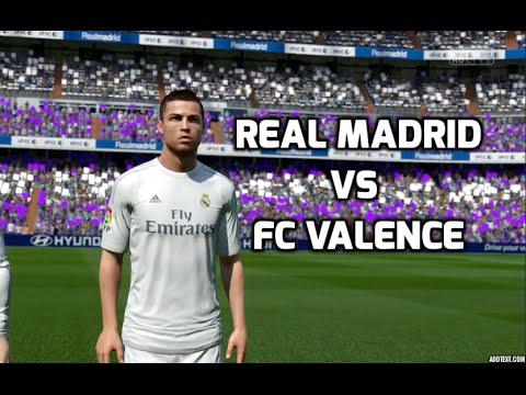 [HD] Real Madrid Vs FC Valence Liga BBVA 08 Mai 2016 Fifa 16 FR 1080p60