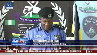 Ritual Killing: Police Parade Sixteen Suspects In Kogi
